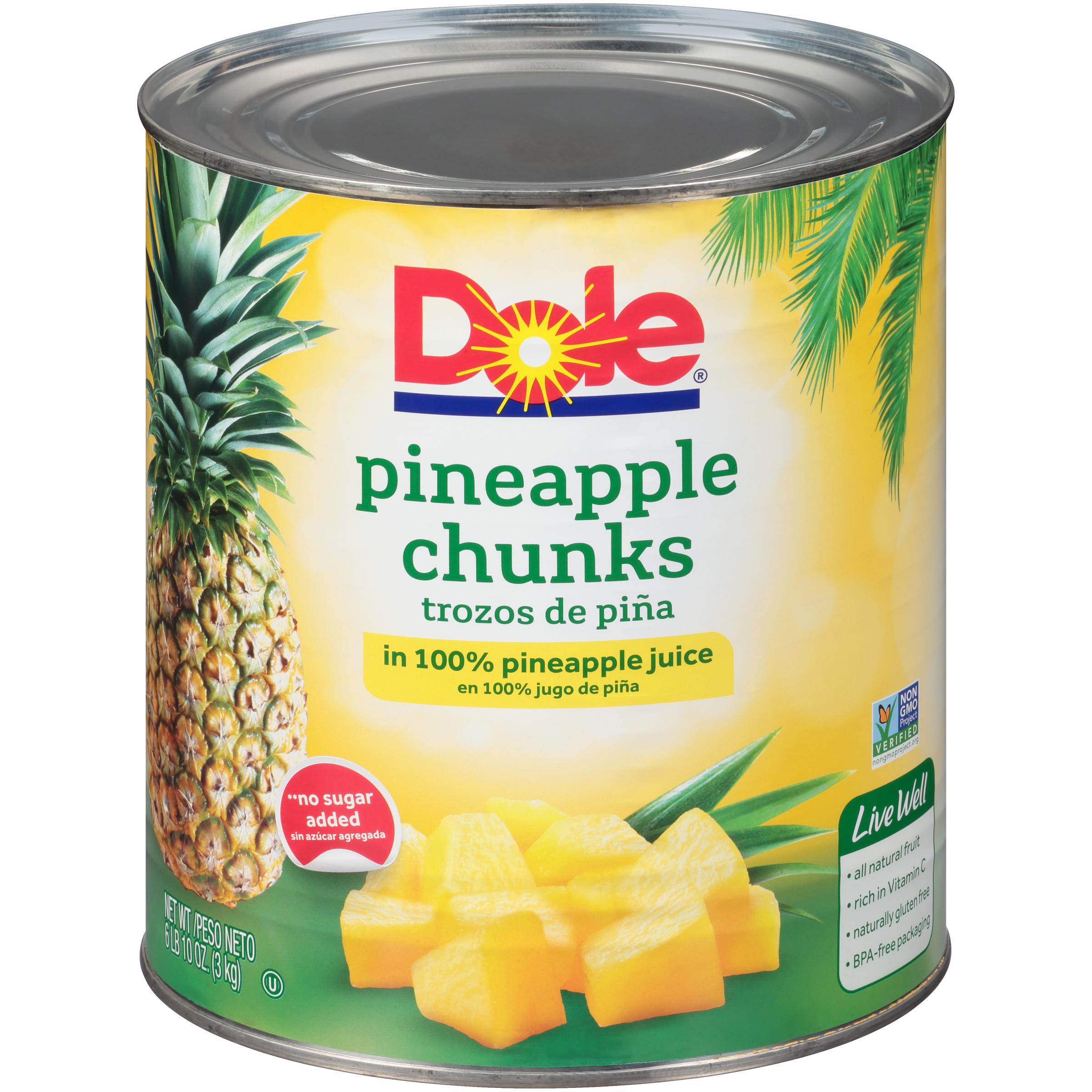 6/10 (106 Oz.) Fancy Chunks In Juice