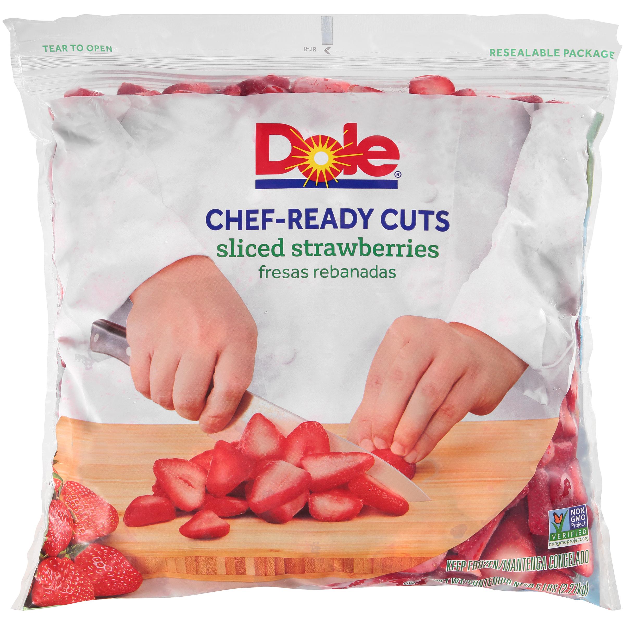 2/5# Sliced Strawberry IQF