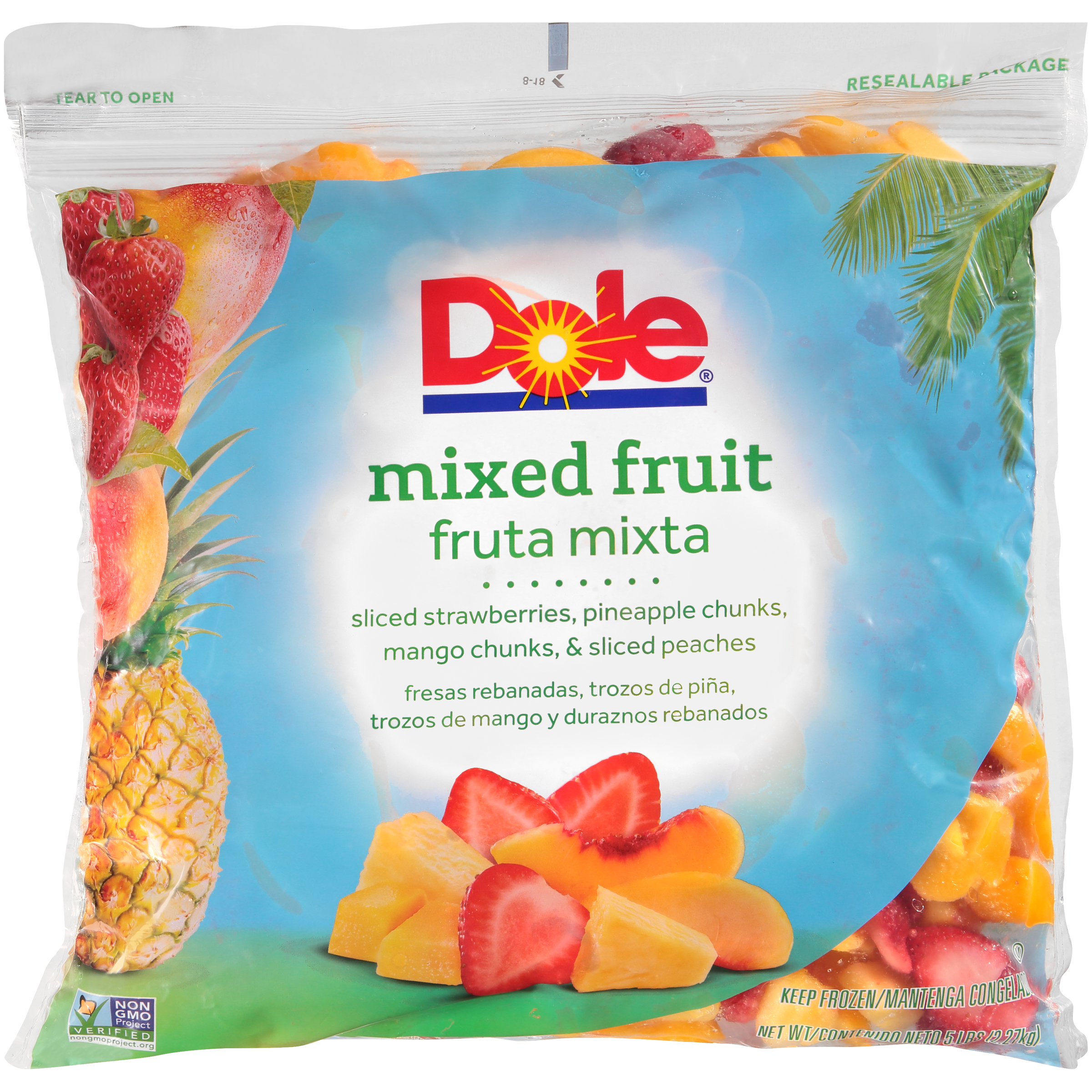 2/5# Mixed Fruit, Deluxe IQF