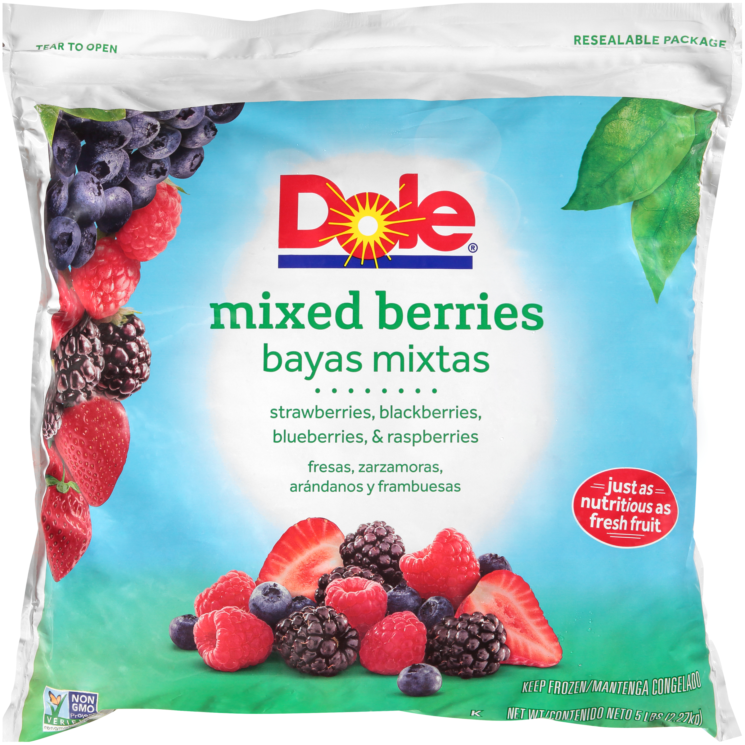2/5# Berries, Mixed IQF