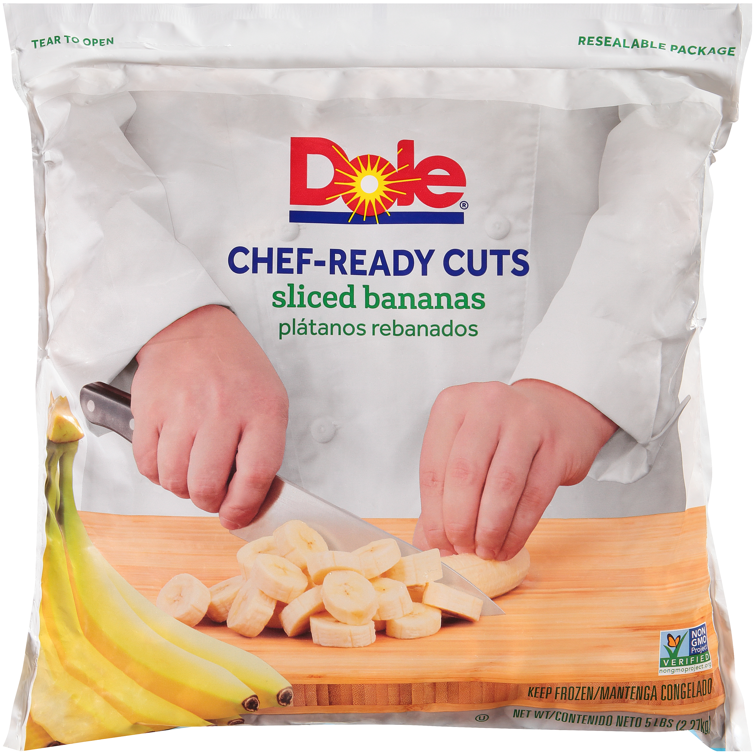 2/5# Sliced Banana IQF