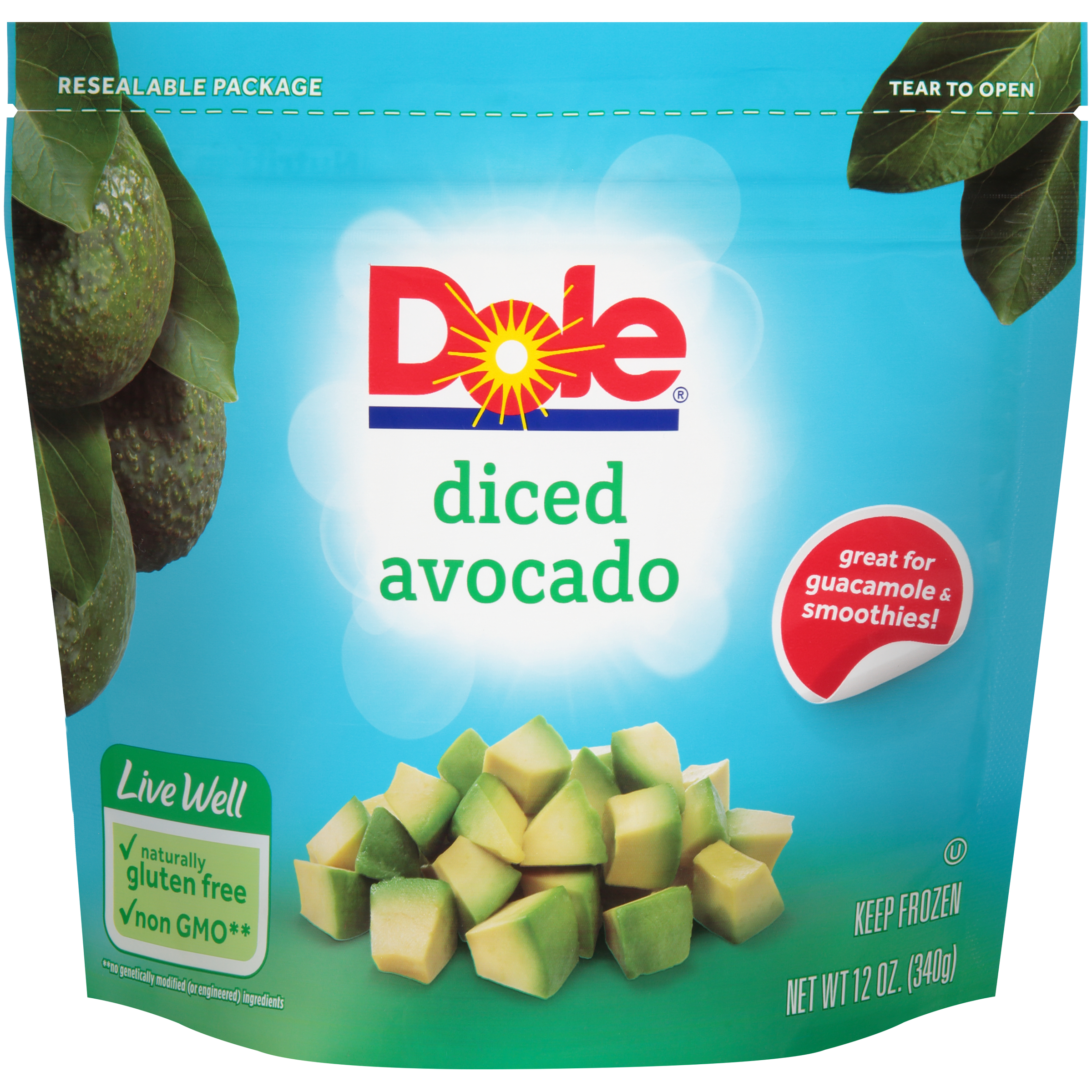 6/2# Avocado, Diced IQF