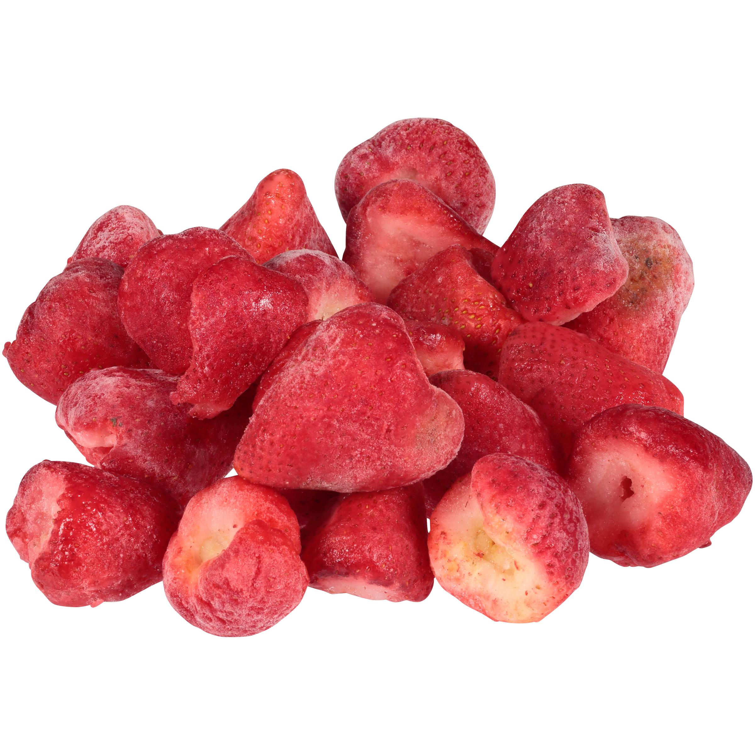 Strawberry Sortouts Wh 30# IQF