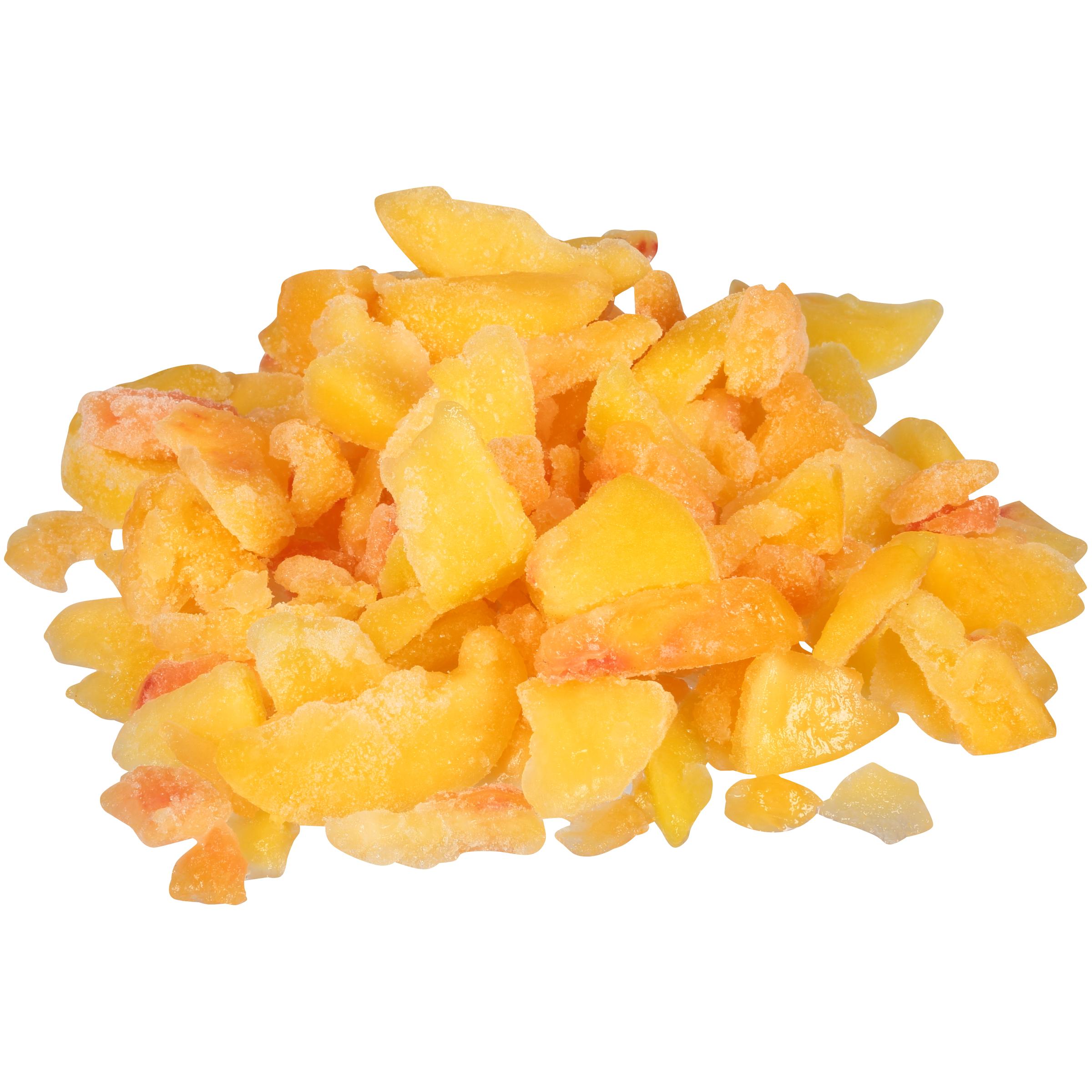 Peach Fr Chks 5/8 Inch  2 30# Dole