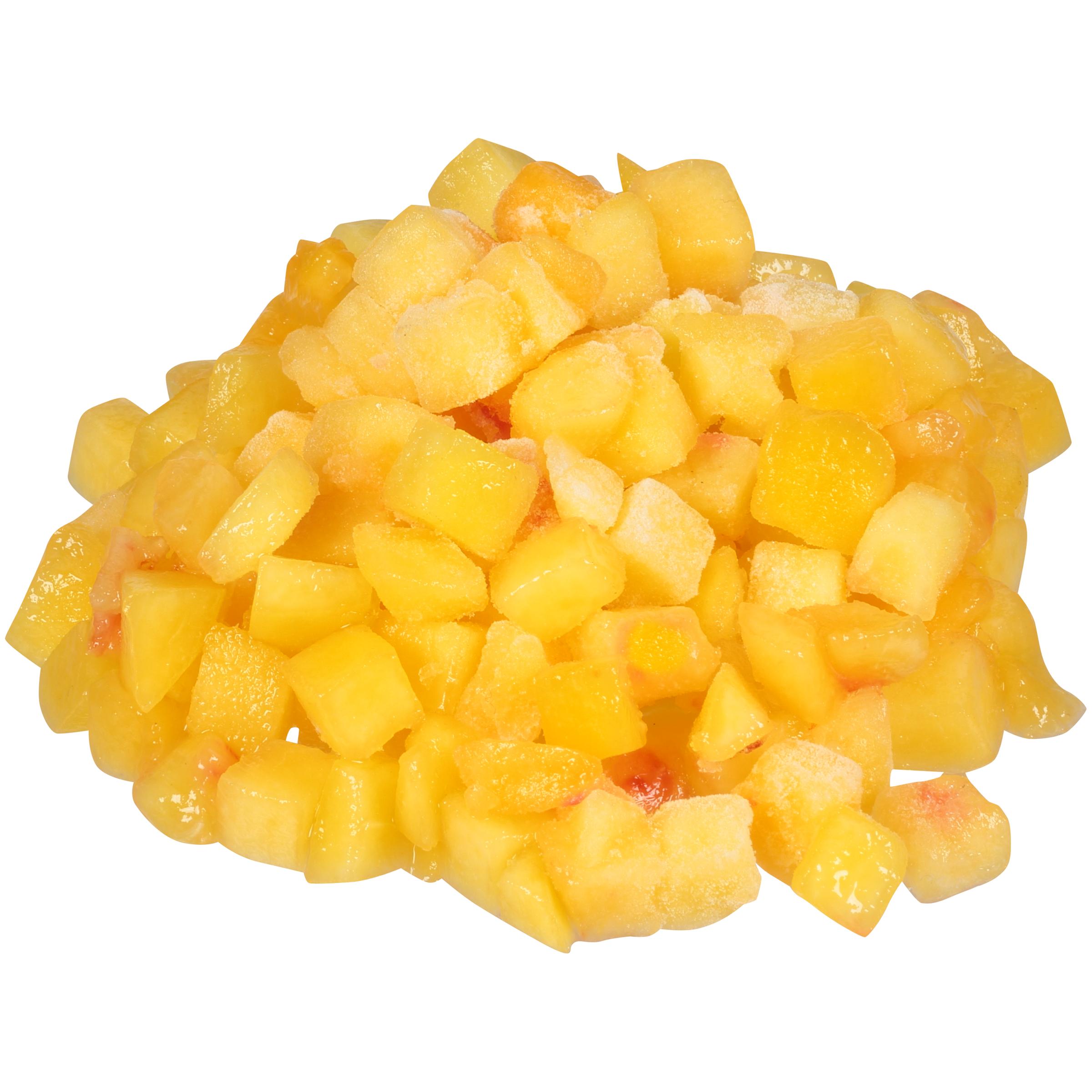 30# Diced Peaches IQF