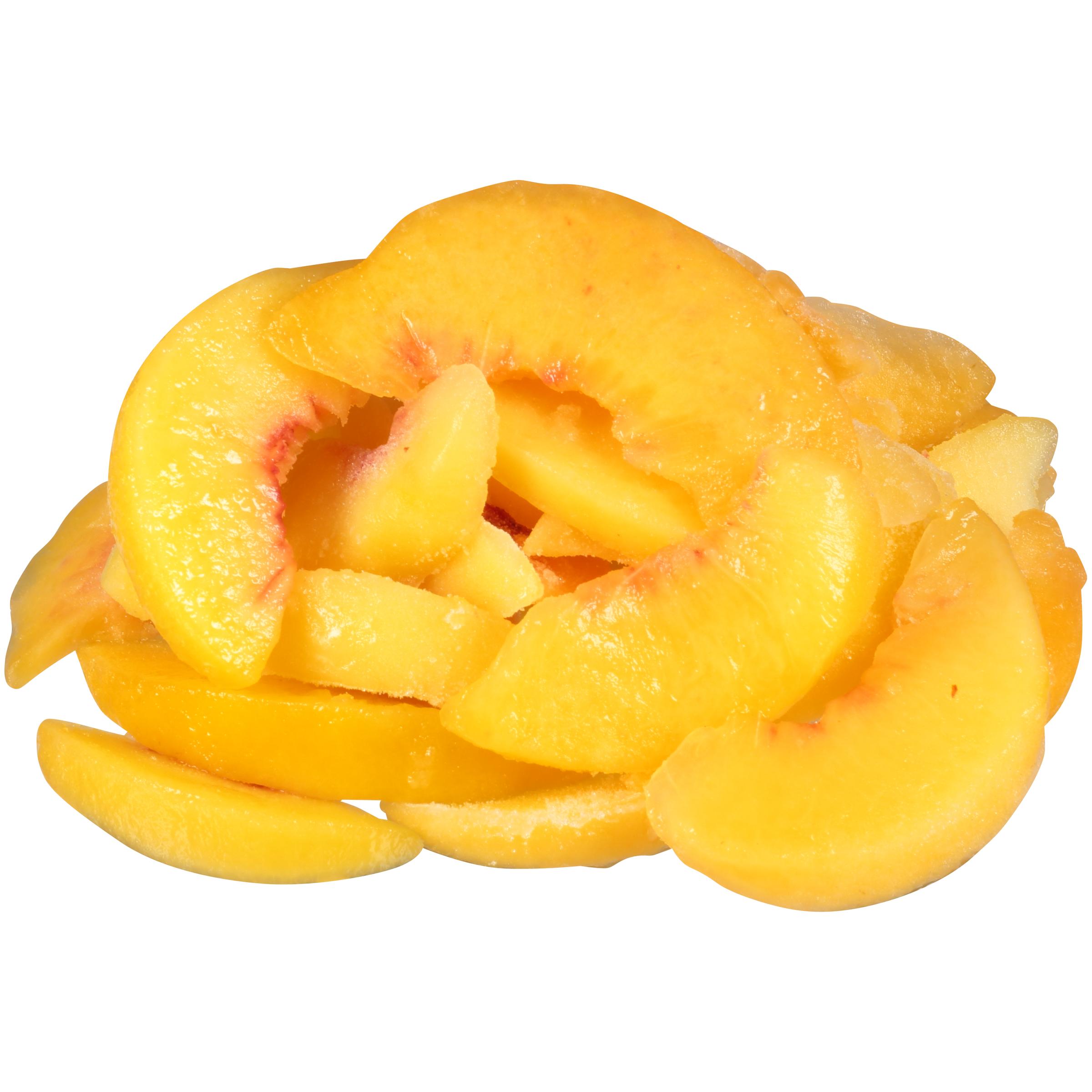 Peach Fr 30# Sliv Sliced IQF