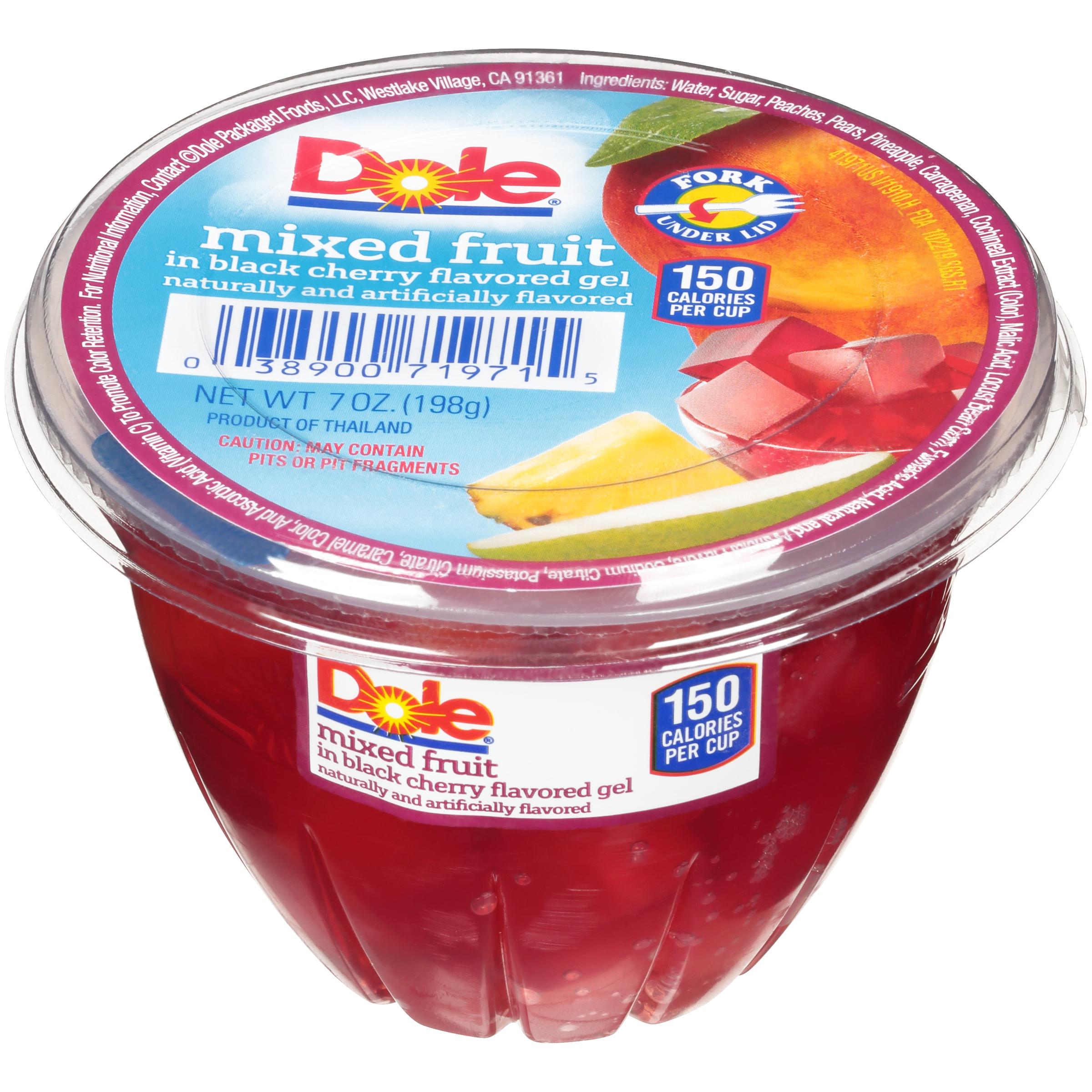 12/7 Mixed Fruit In Blk Cherry Gel