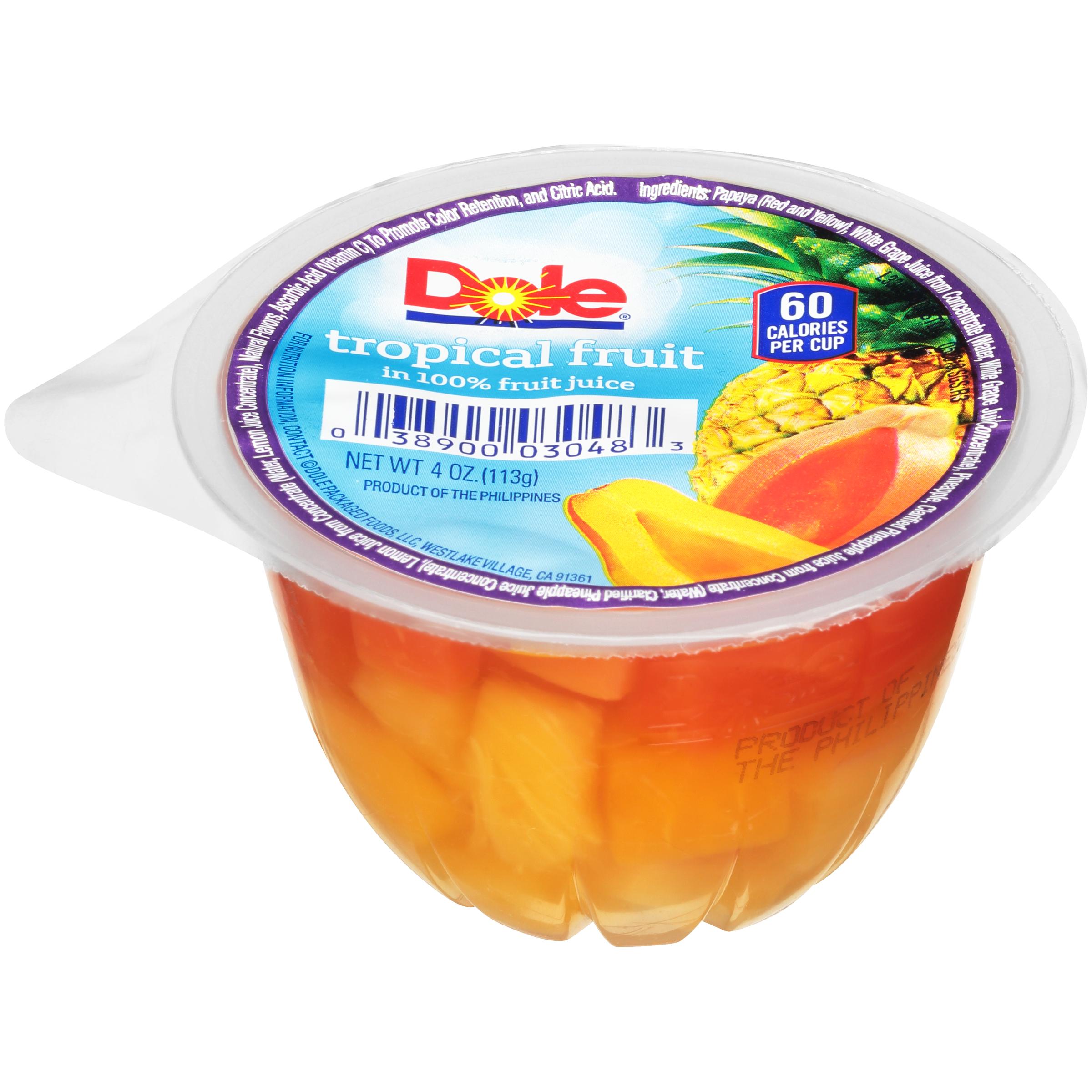36/4 Tropical Fruit In Juice