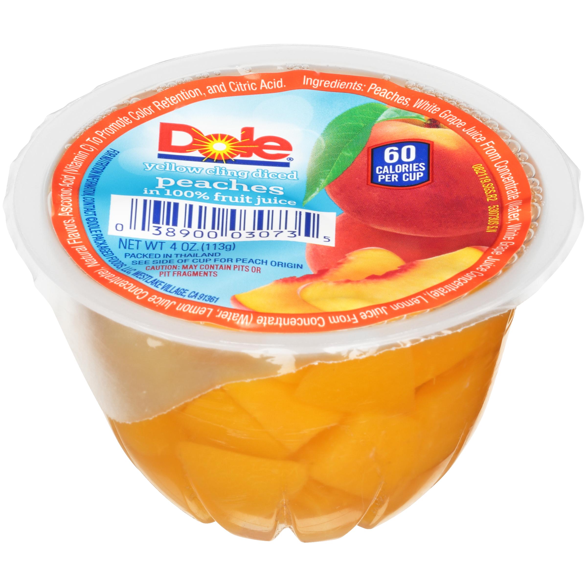 36/4 Diced Peaches In Juice