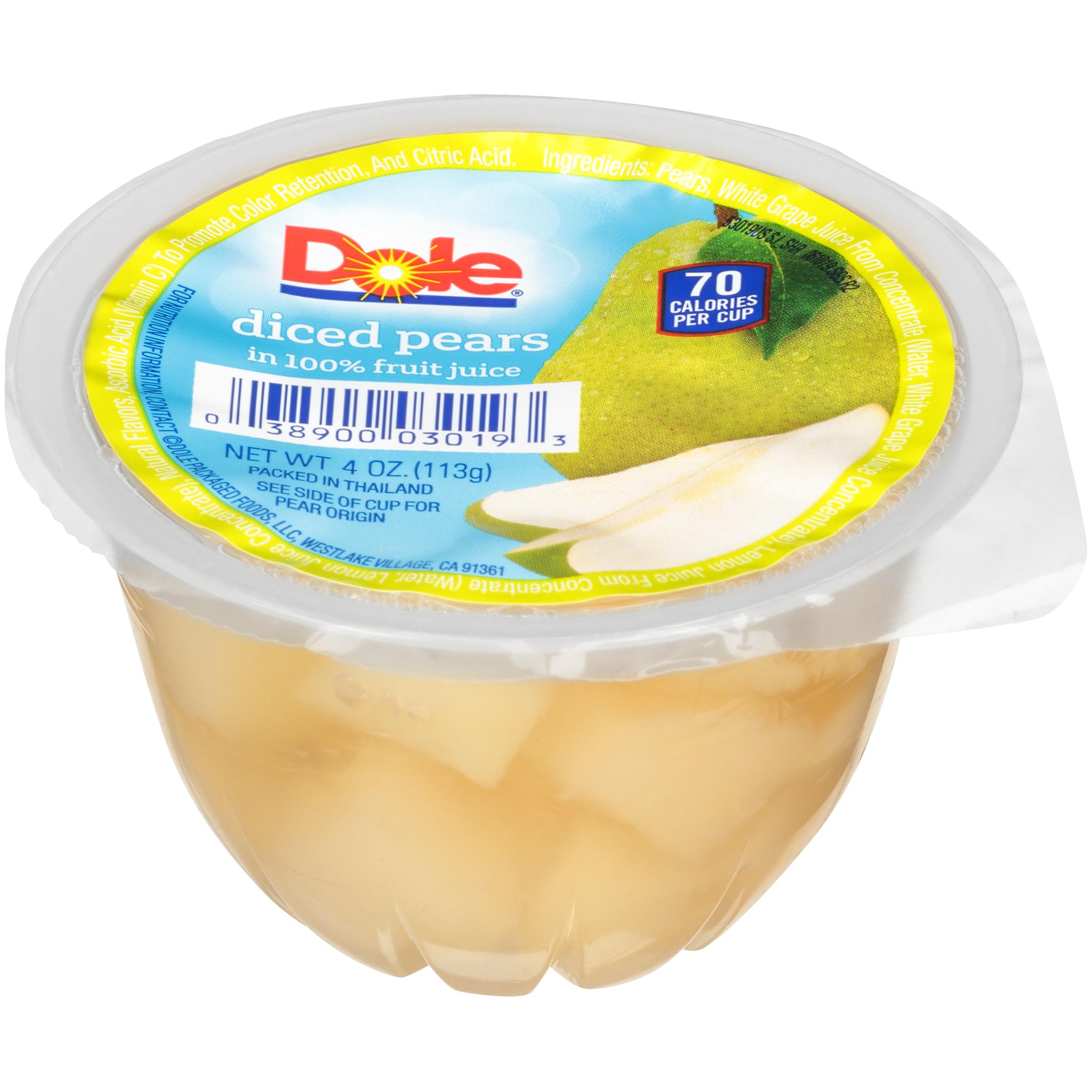 36/4 Diced Pears In Juice