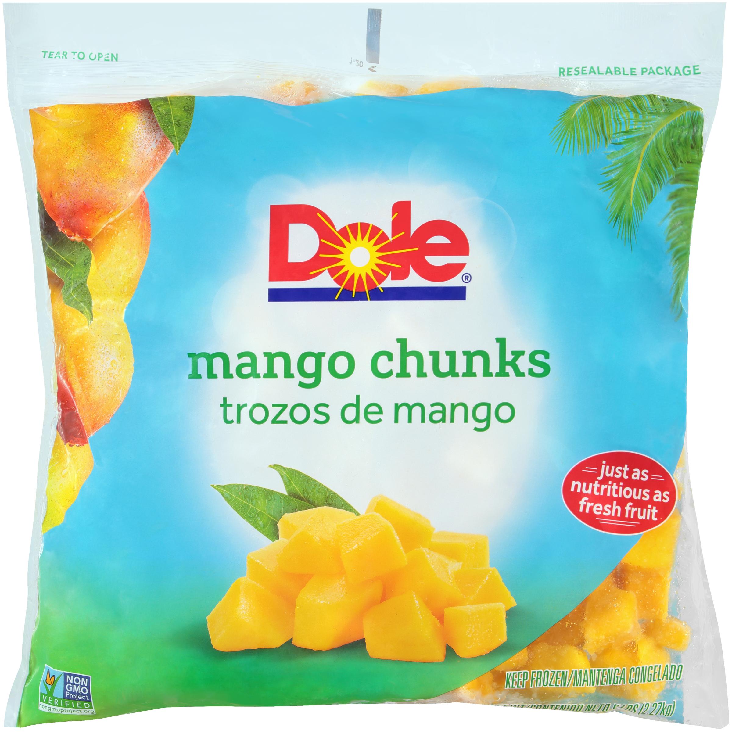 2/5# Mango, Chunks IQF