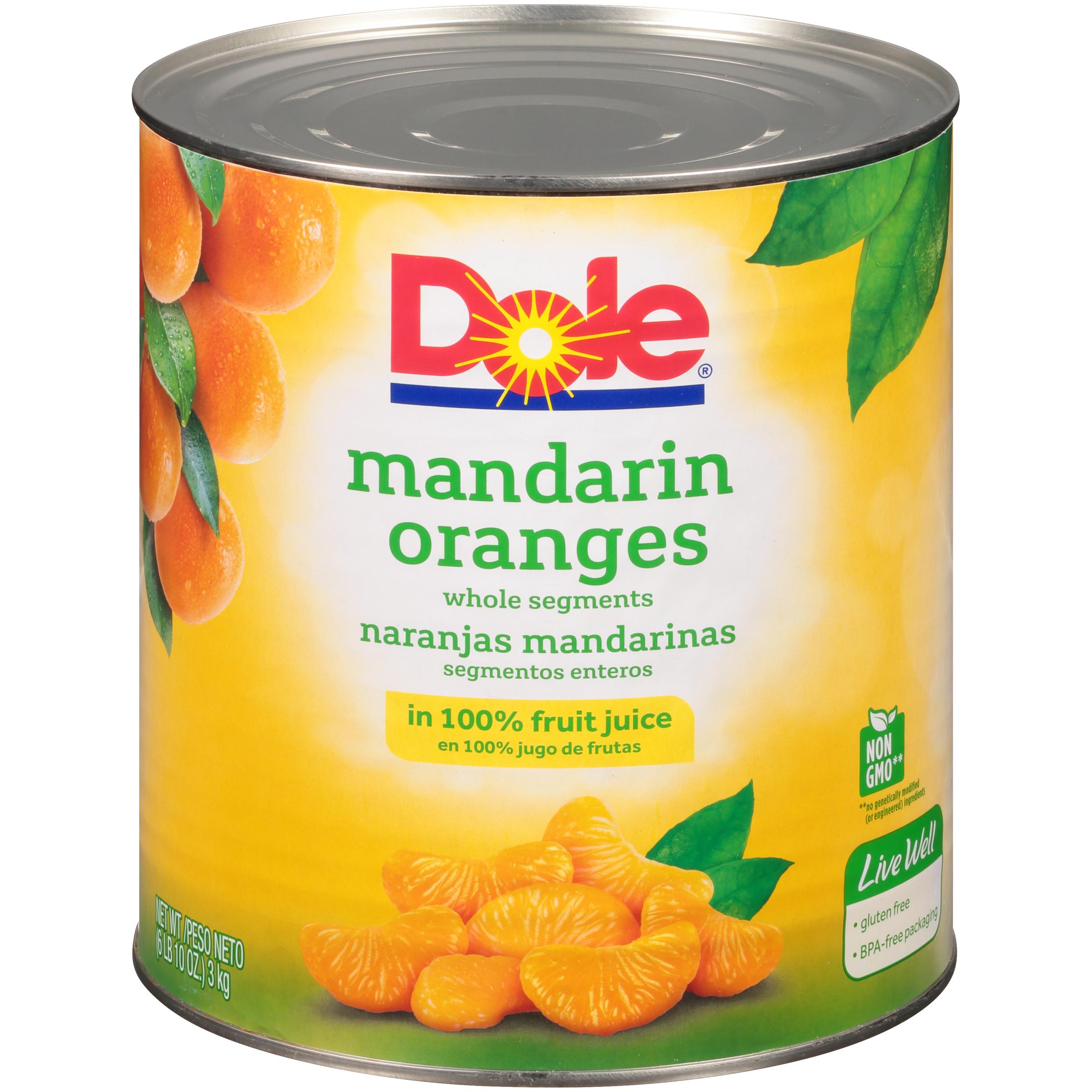 6/10 (106 Oz.) Mandarin Orange In Juice