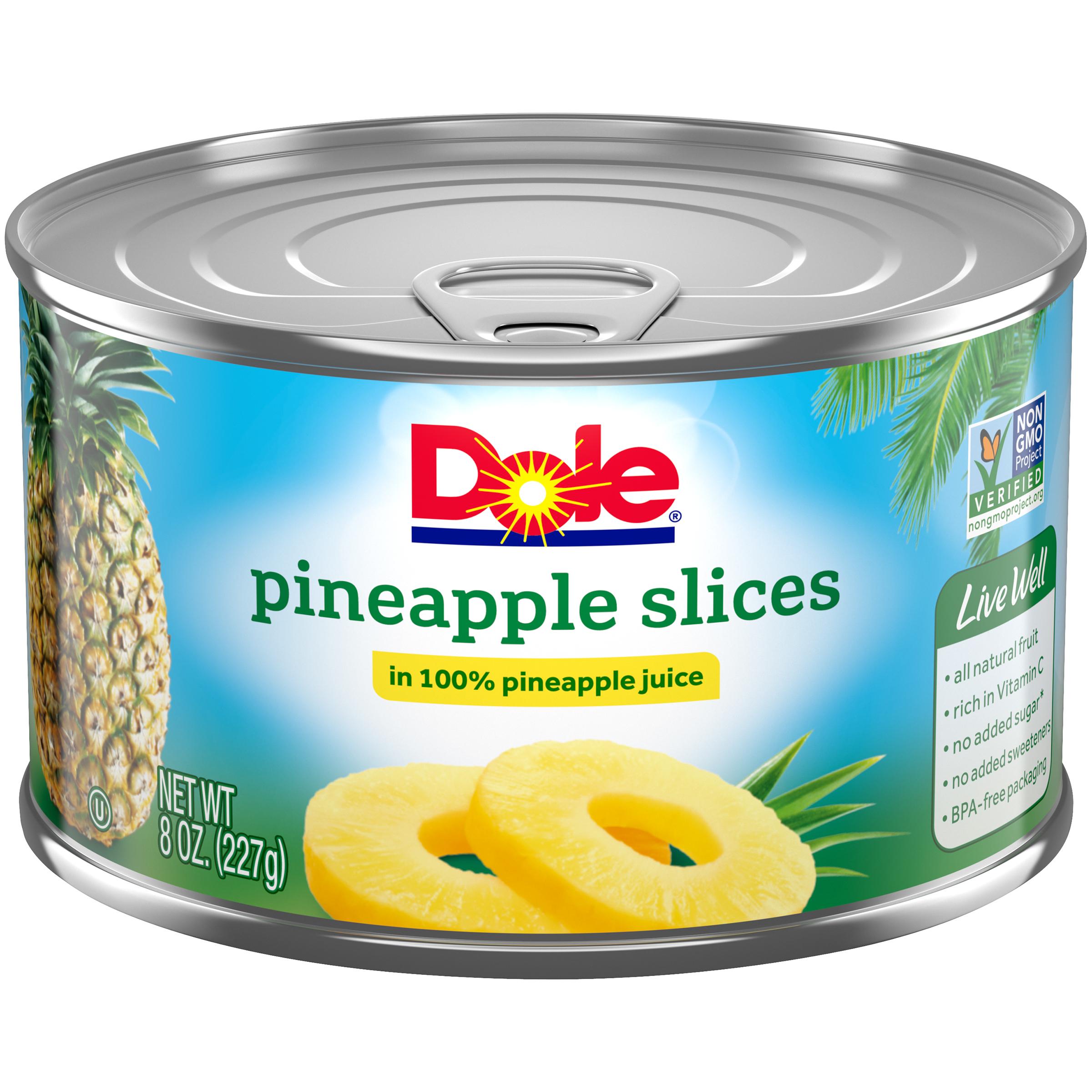 12/8 Oz (1 F) Slice In Juice