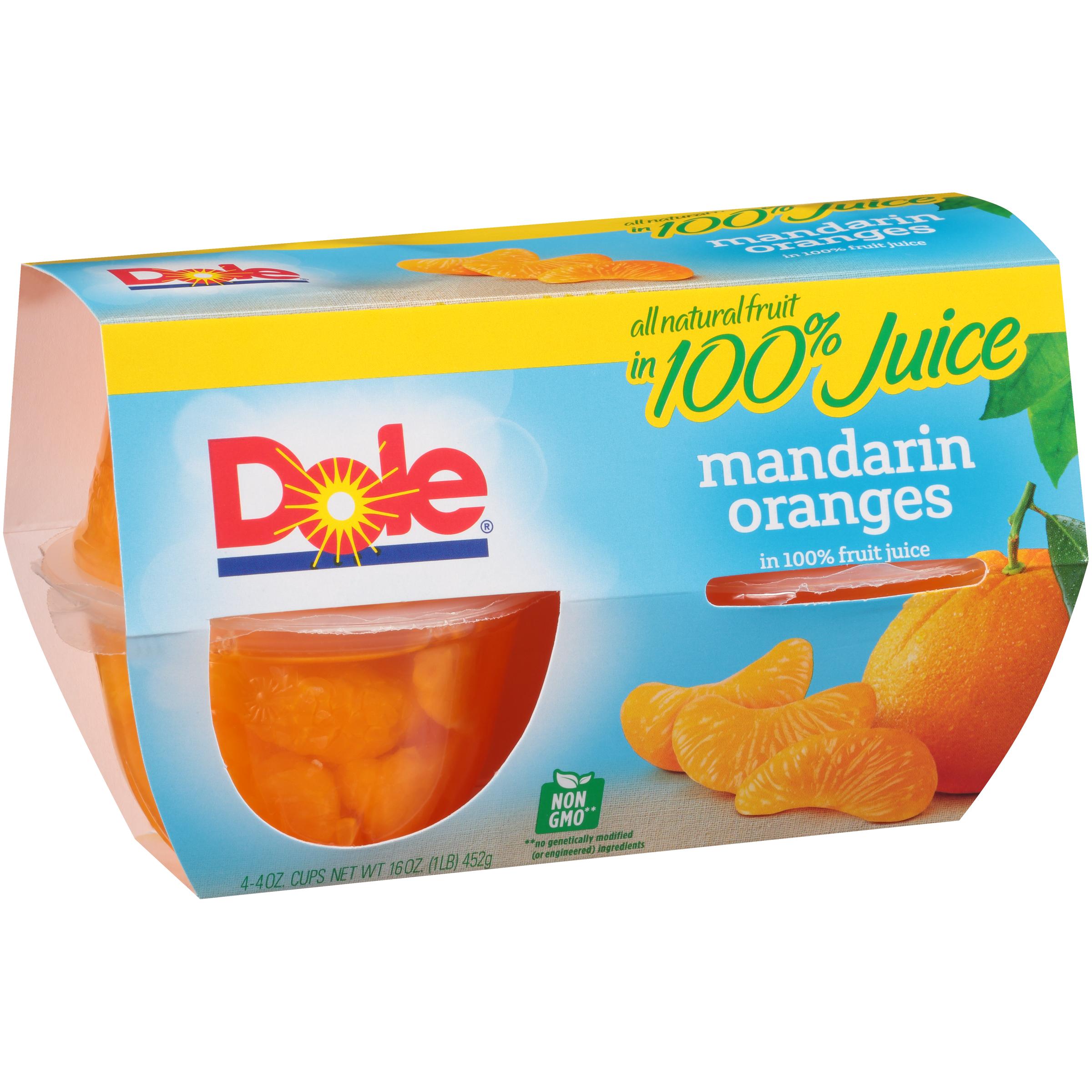 6/4 Pk/4 Oz. Mandarins In Jce