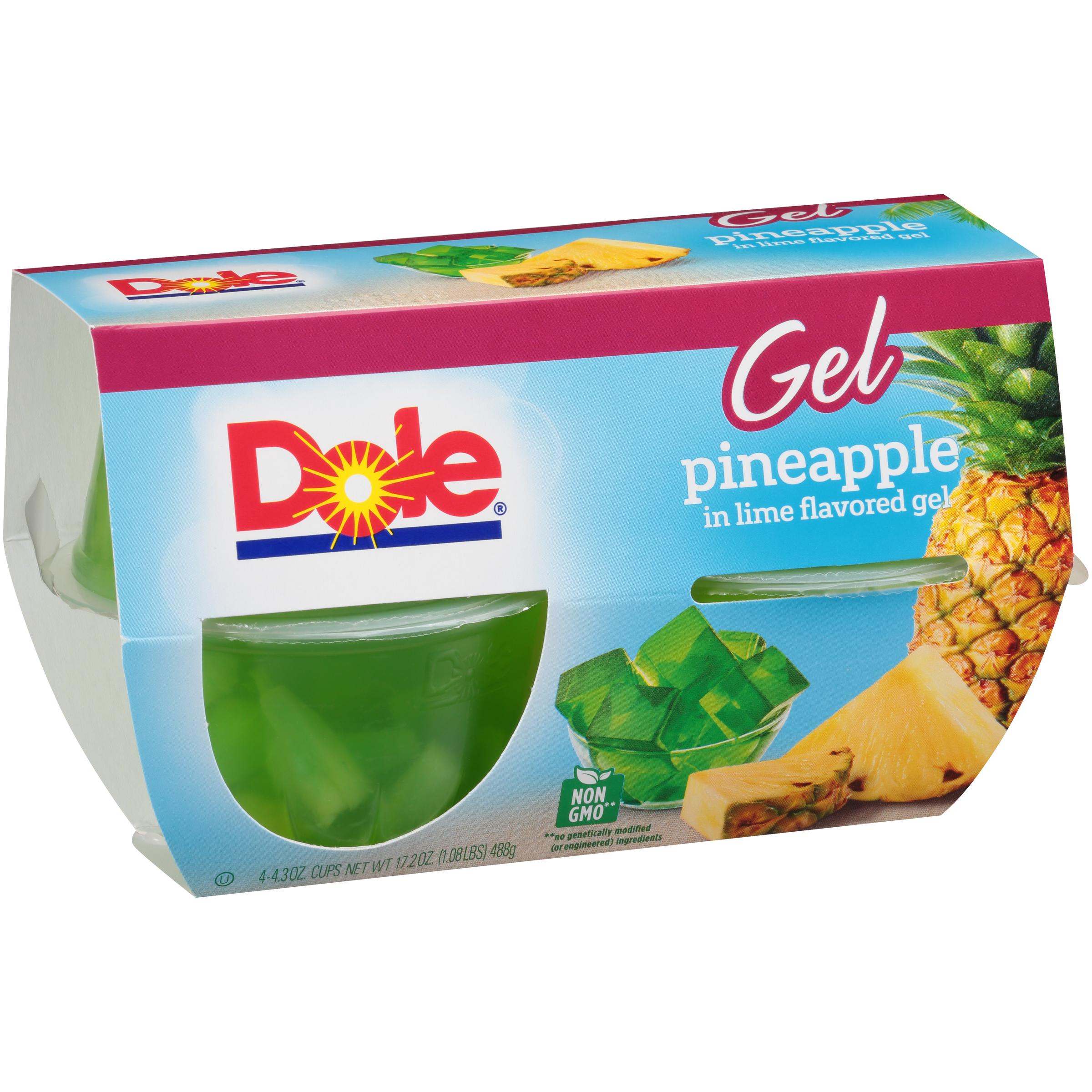 6/4 Pk/4.3 Oz. Pineapple In Lime Gel