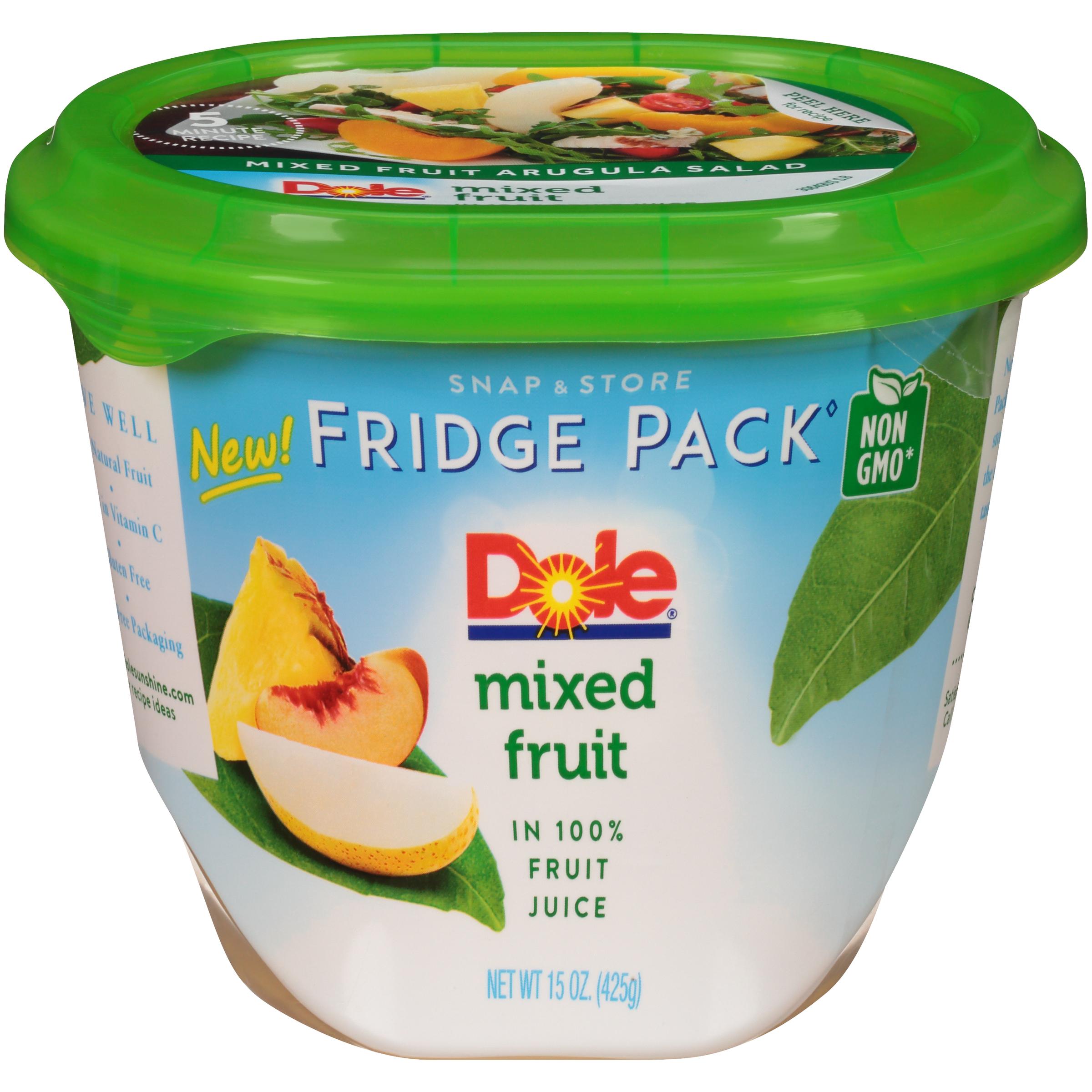 8/15 Oz Mixed Fruit In 100% Fruit Juice