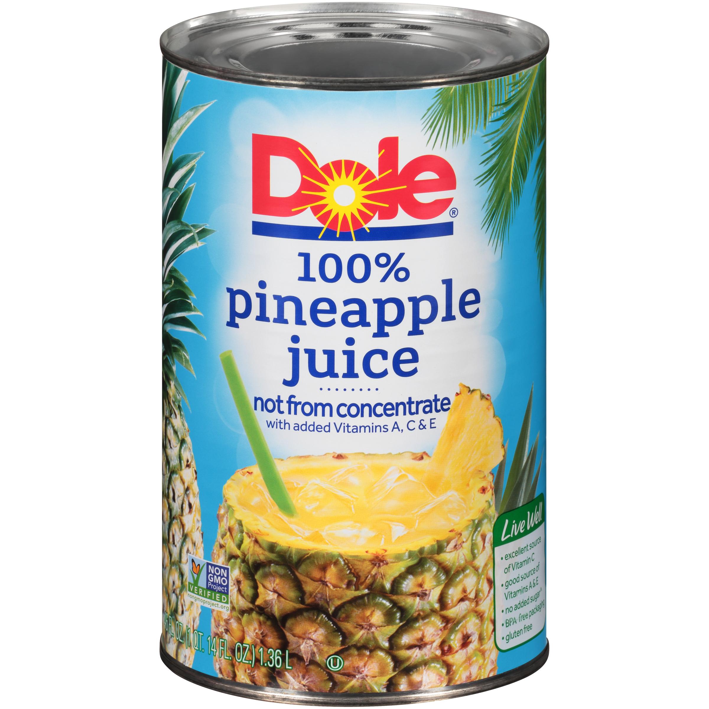 12/46 Oz. Pineapple Juice