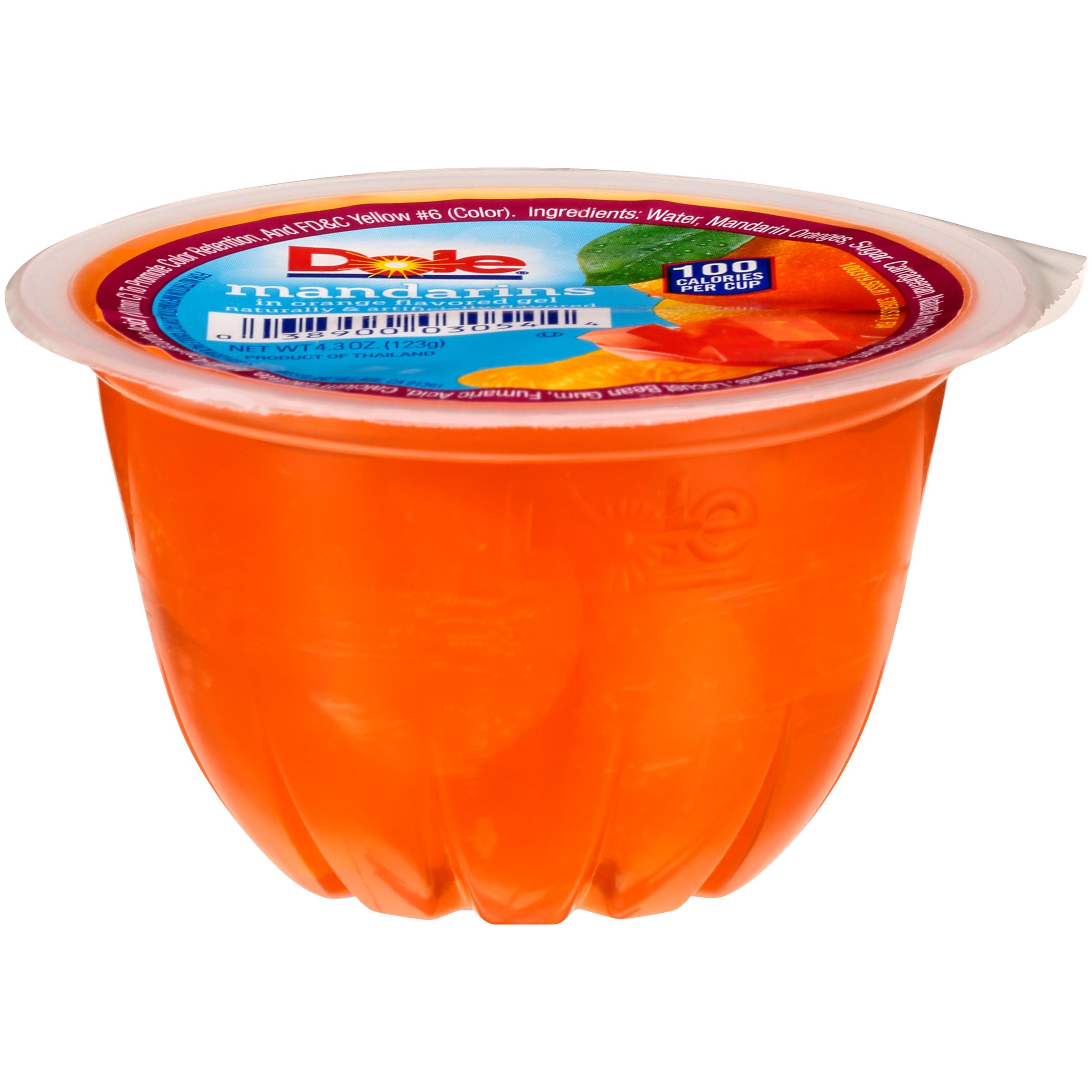 36/4.3 Mandarins In Orange Gel